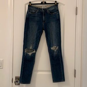 **LIKE-NEW CONDITION** PAIGE Carter Slim Jeans